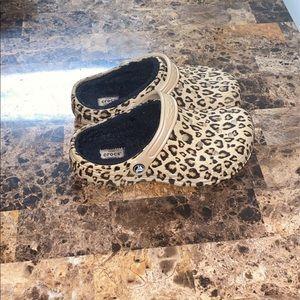 Women's Furry Crocs